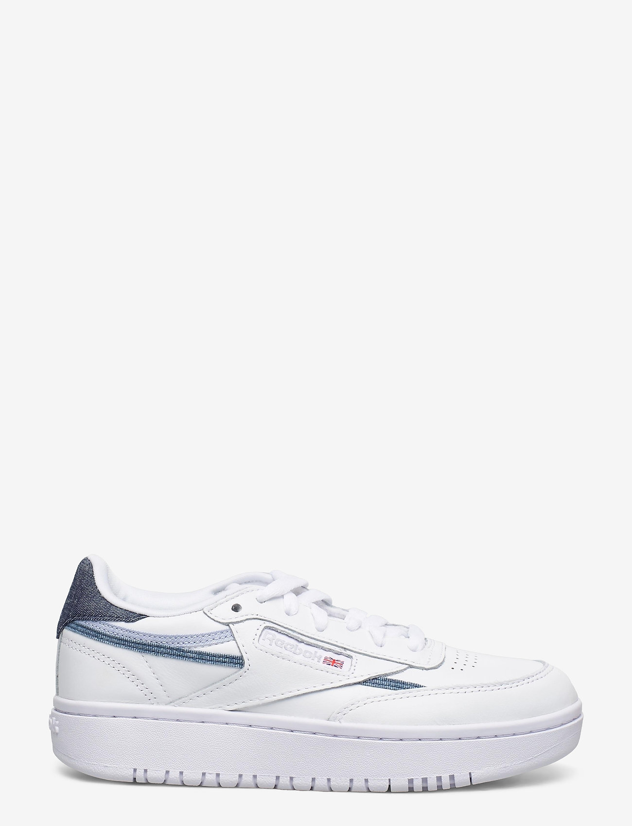 Reebok Classics - Club C Double W - sneakers - ftwwht/cdgry2/dynred - 1