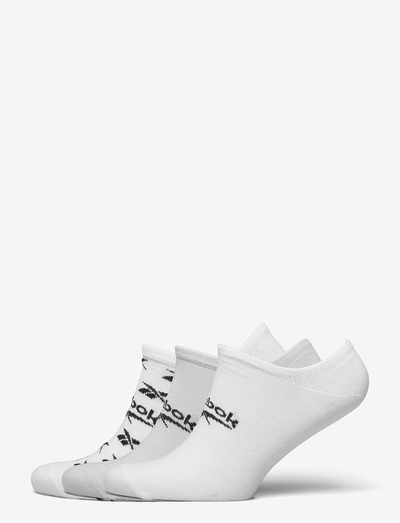 Reebok Classics - CL FO Invisible Sock 3P - kousen - white/lgsogr/white - 0