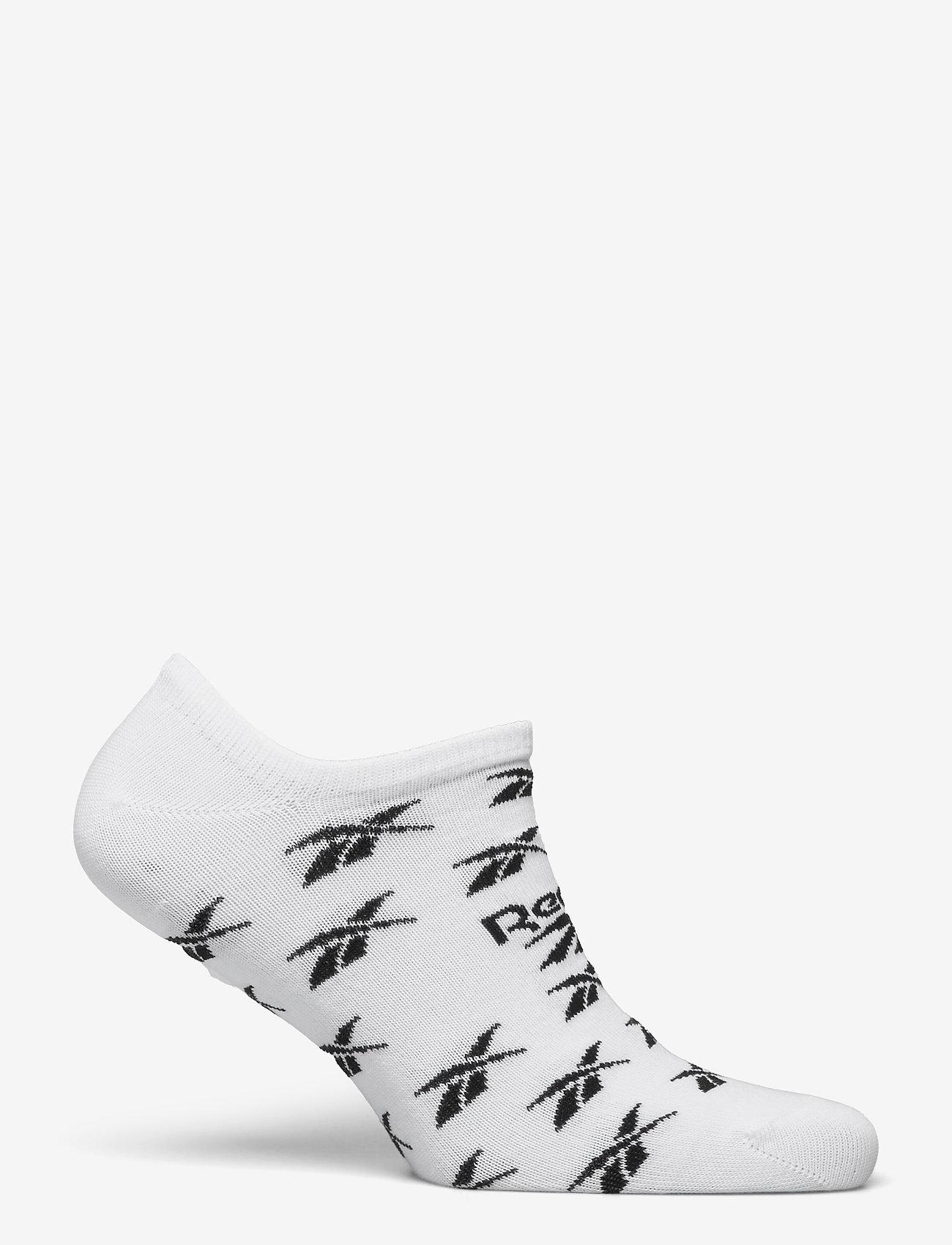 Reebok Classics - CL FO Invisible Sock 3P - kousen - white/lgsogr/white - 1