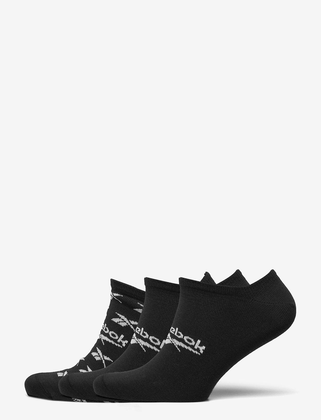 Reebok Classics - CL FO Invisible Sock 3P - kousen - black - 0
