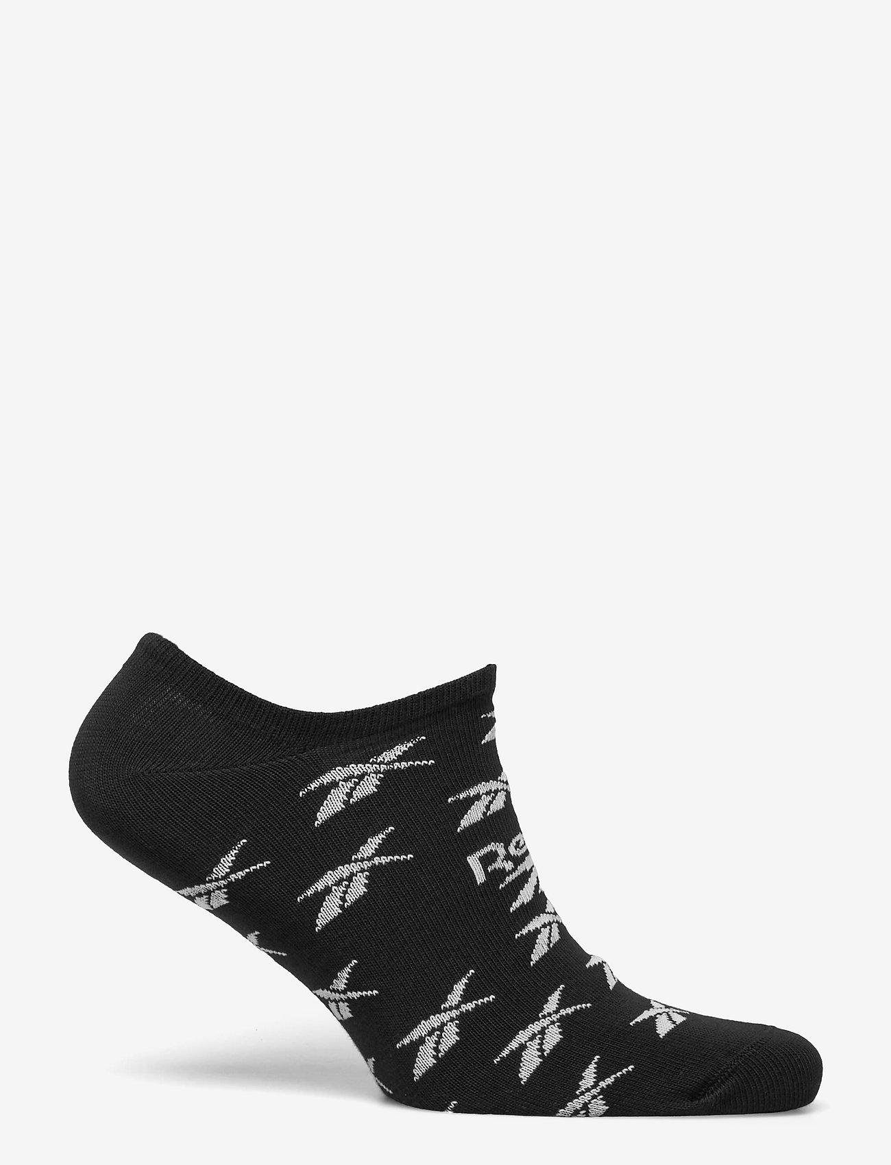 Reebok Classics - CL FO Invisible Sock 3P - kousen - black - 1