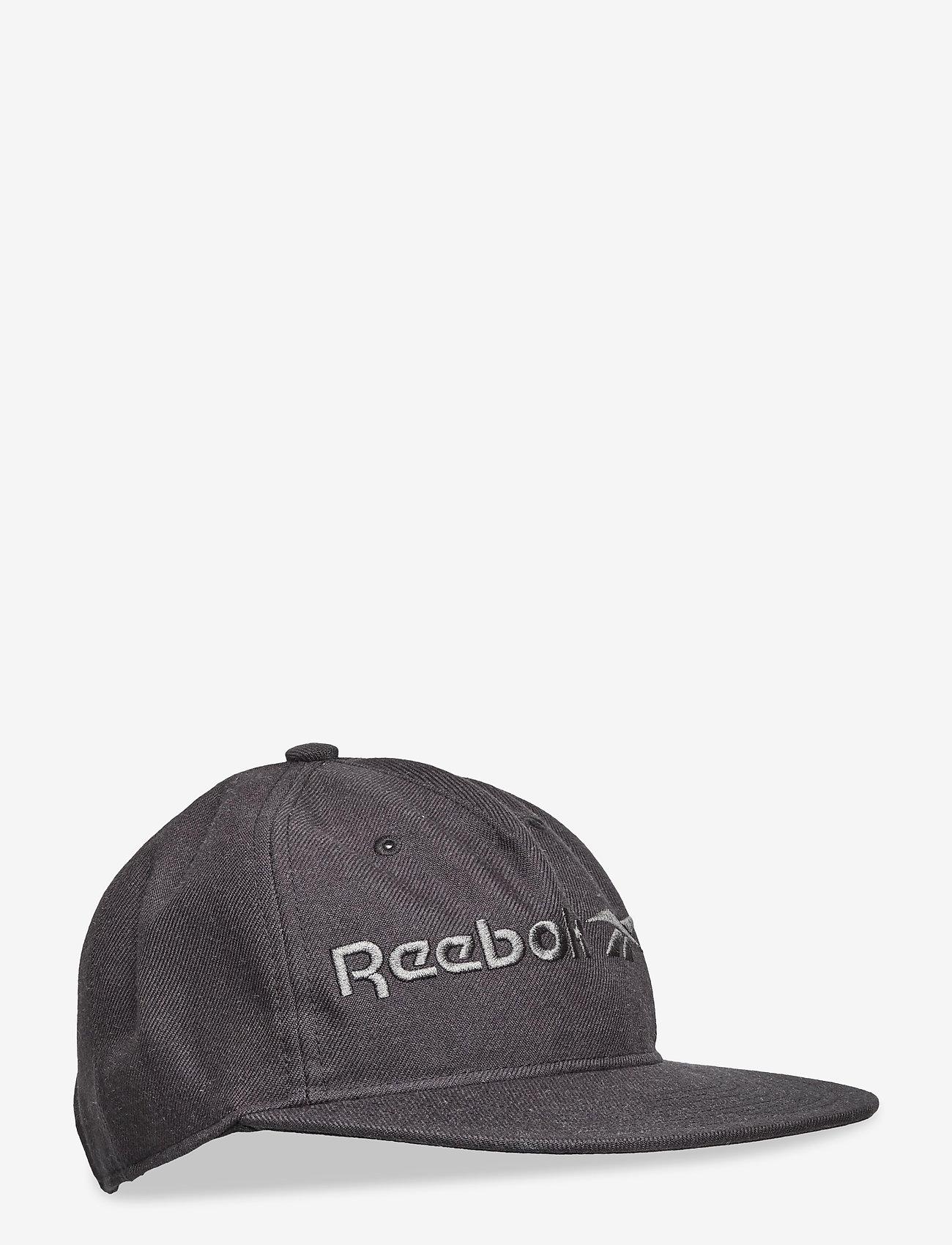 Reebok Classics - CL Vector Flat Peak Cap - petten - black/black/black - 0