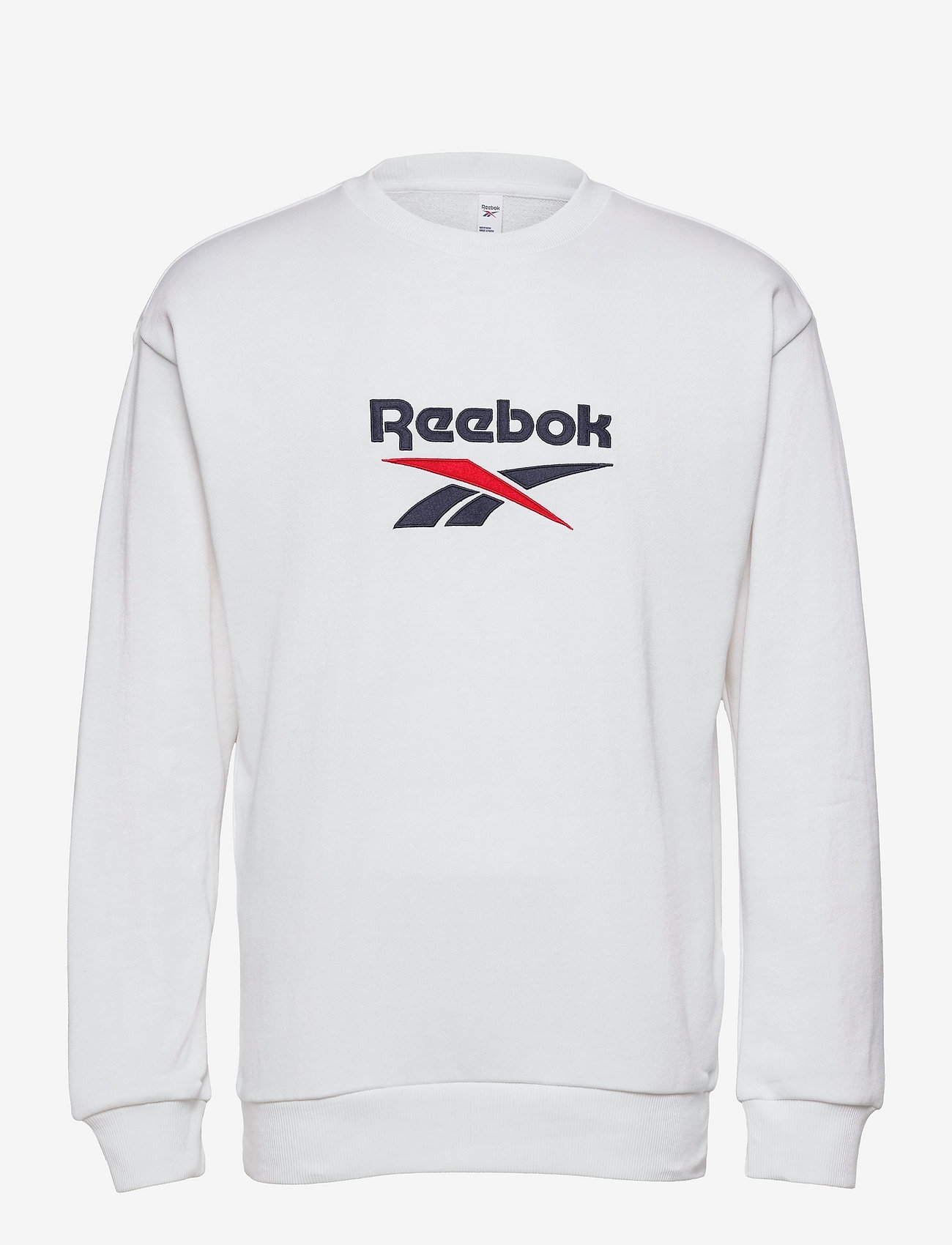 Reebok Classics - CL F VECTOR CREW - truien - white/vecnav/vecred - 1