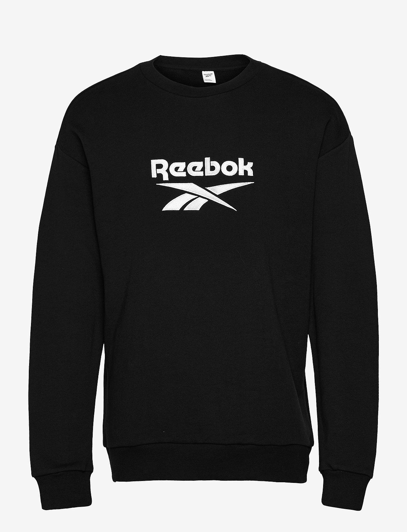 Reebok Classics - CL F VECTOR CREW - truien - black - 1