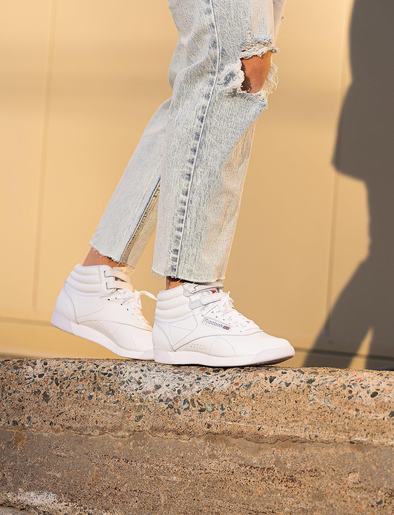 Reebok Classics - Freestyle Hi W - hoge sneakers - white/silver - 0