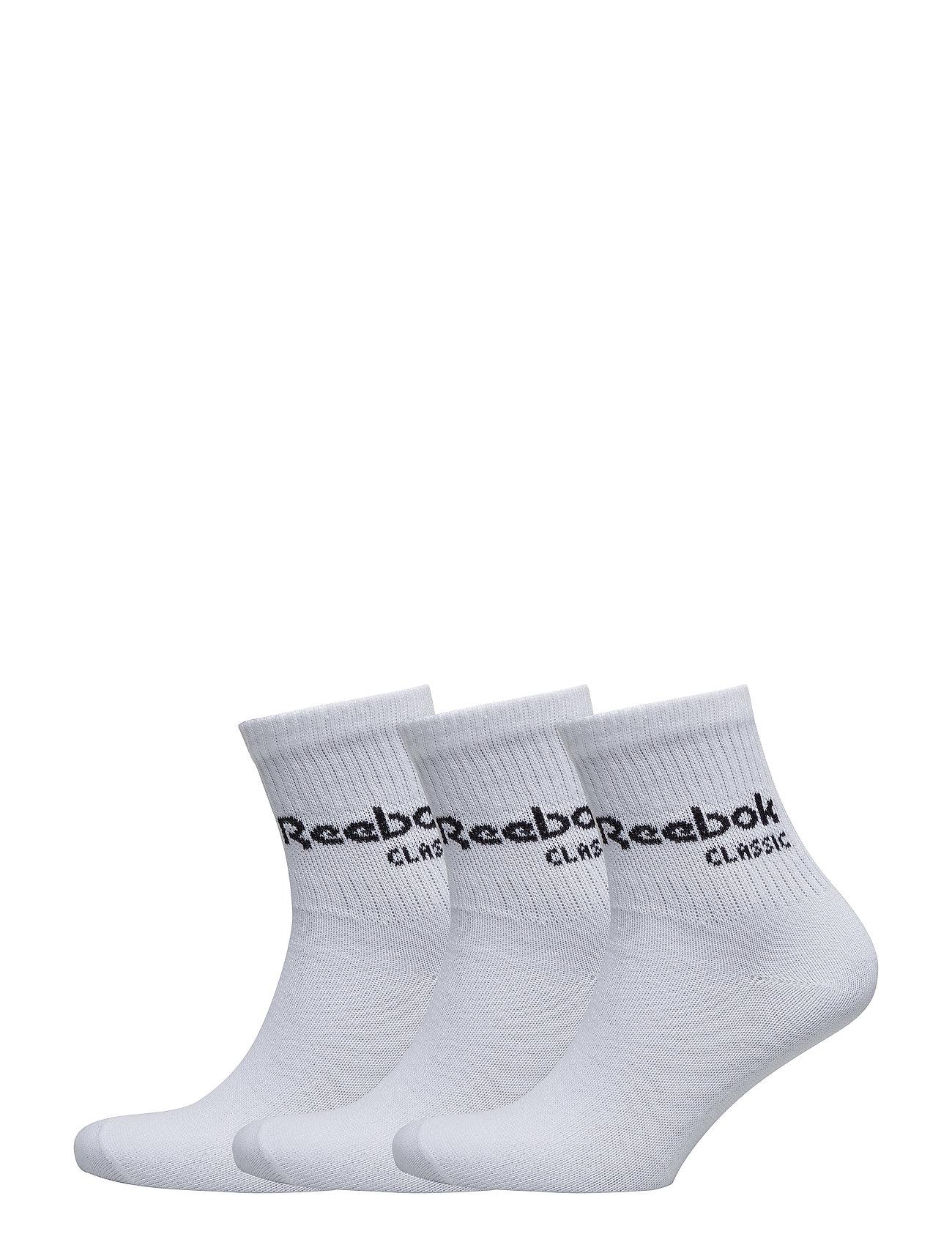Reebok Classics CL CORE CREW SOCK 3P - WHITE/WHITE/WHITE