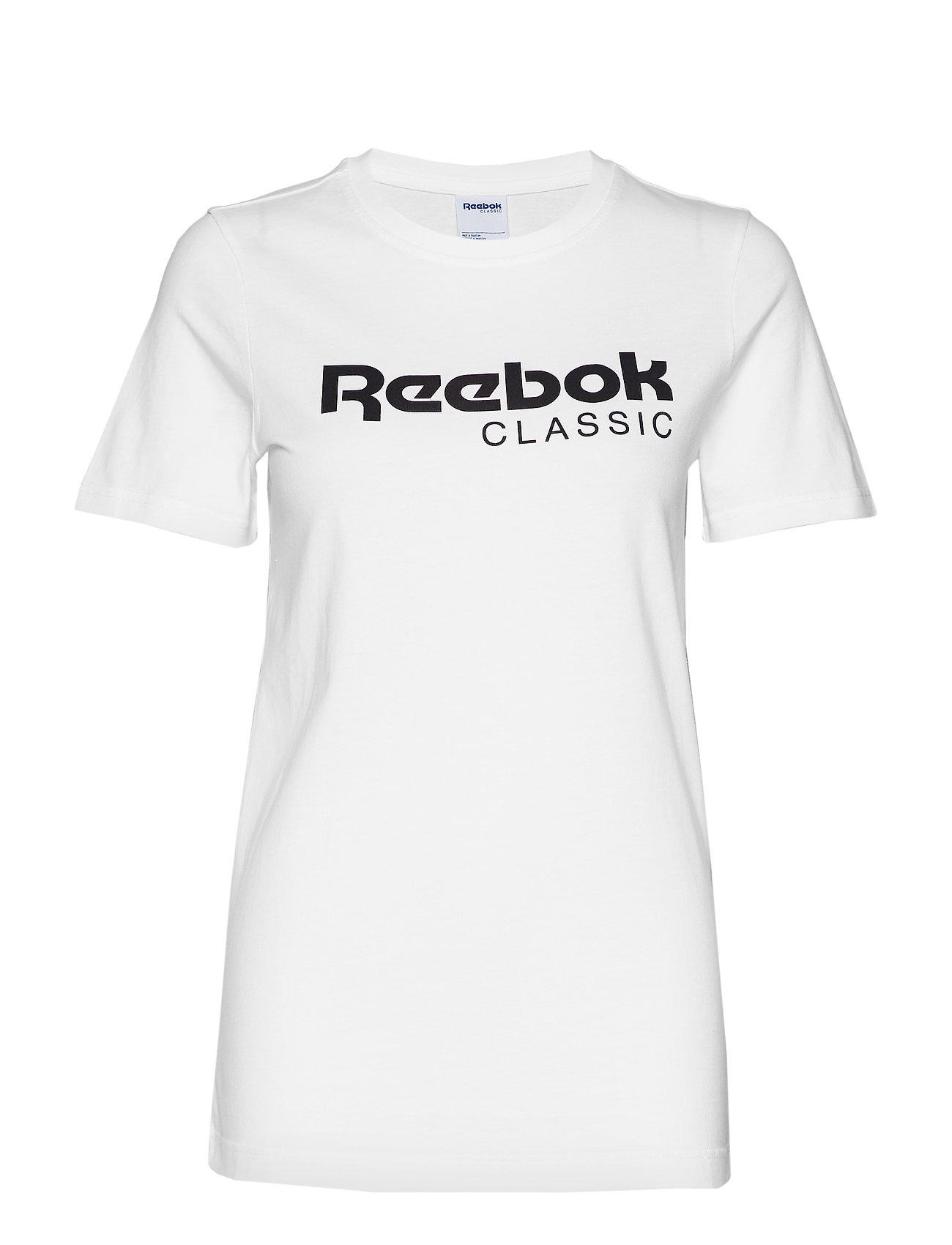 Reebok Classics CL REEBOK TEE - WHITE
