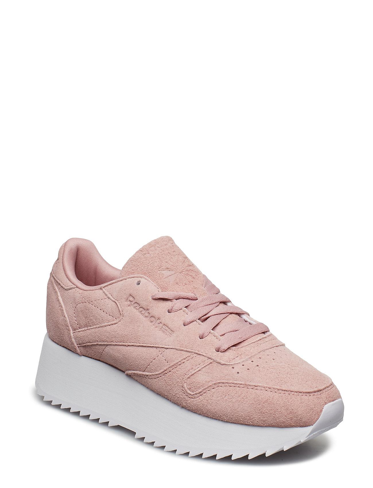 REEBOK Cl Lthr Double Niedrige Sneaker Pink REEBOK CLASSICS