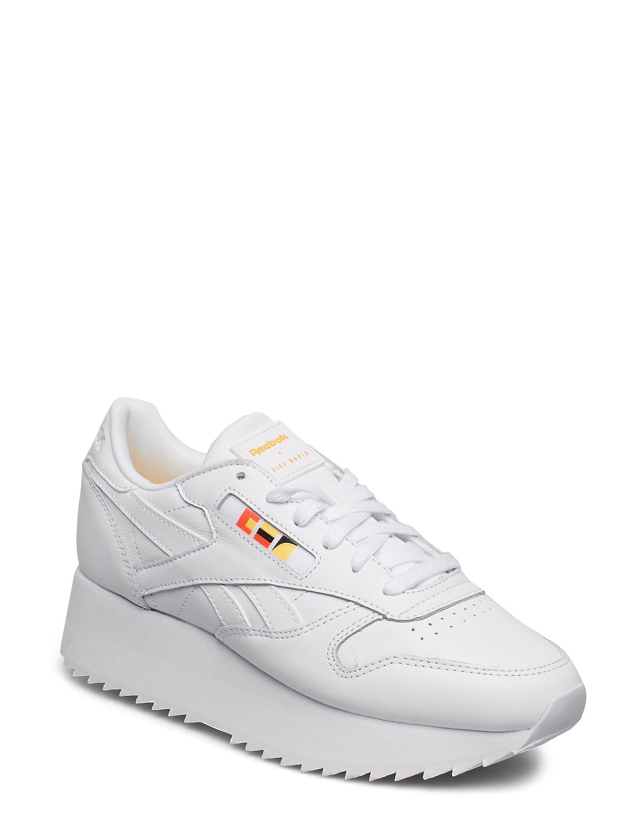 REEBOK Cl Lthr Double Niedrige Sneaker Weiß REEBOK CLASSICS