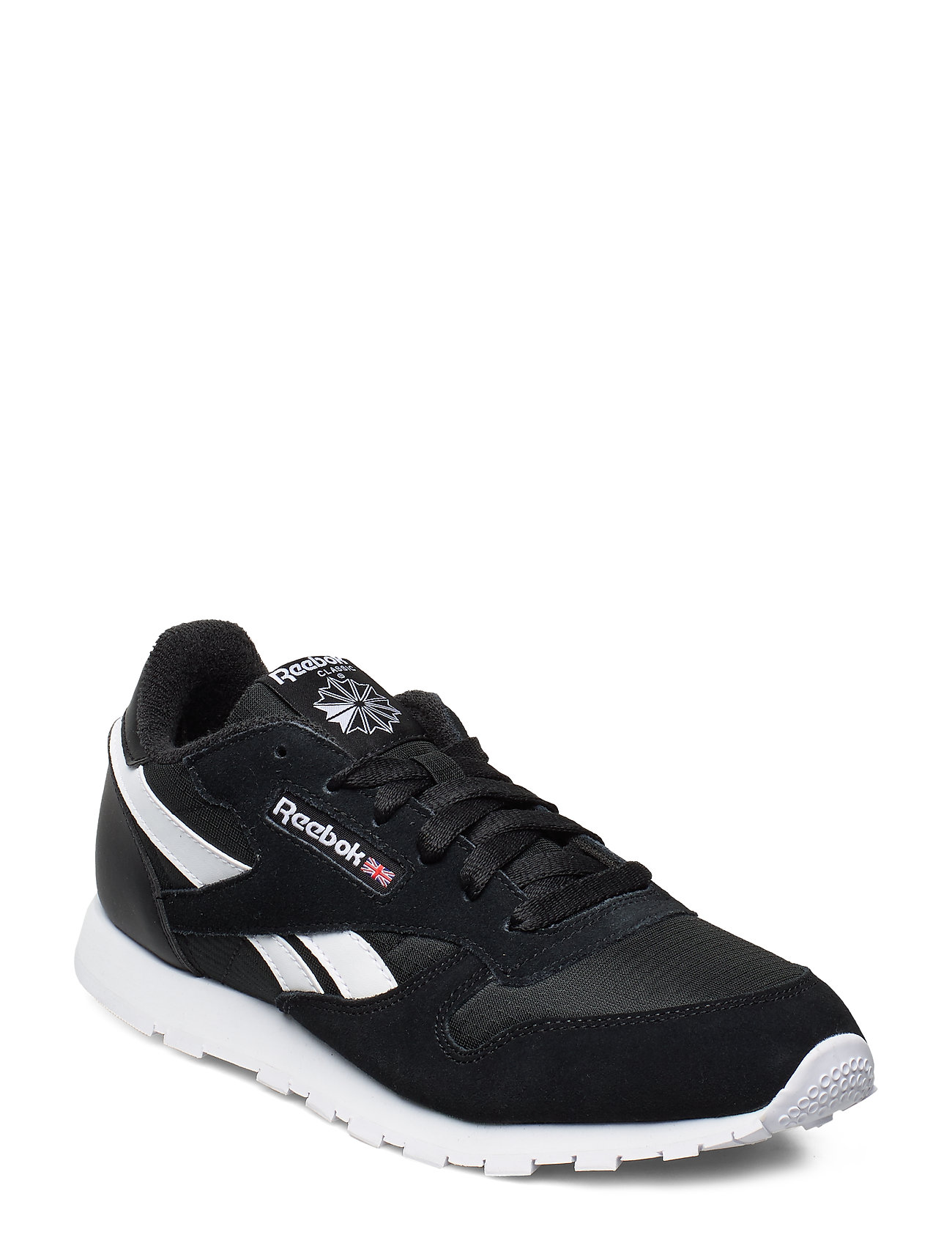 Image of Classic Leather Low-top Sneakers Sort Reebok Classics (3250585389)