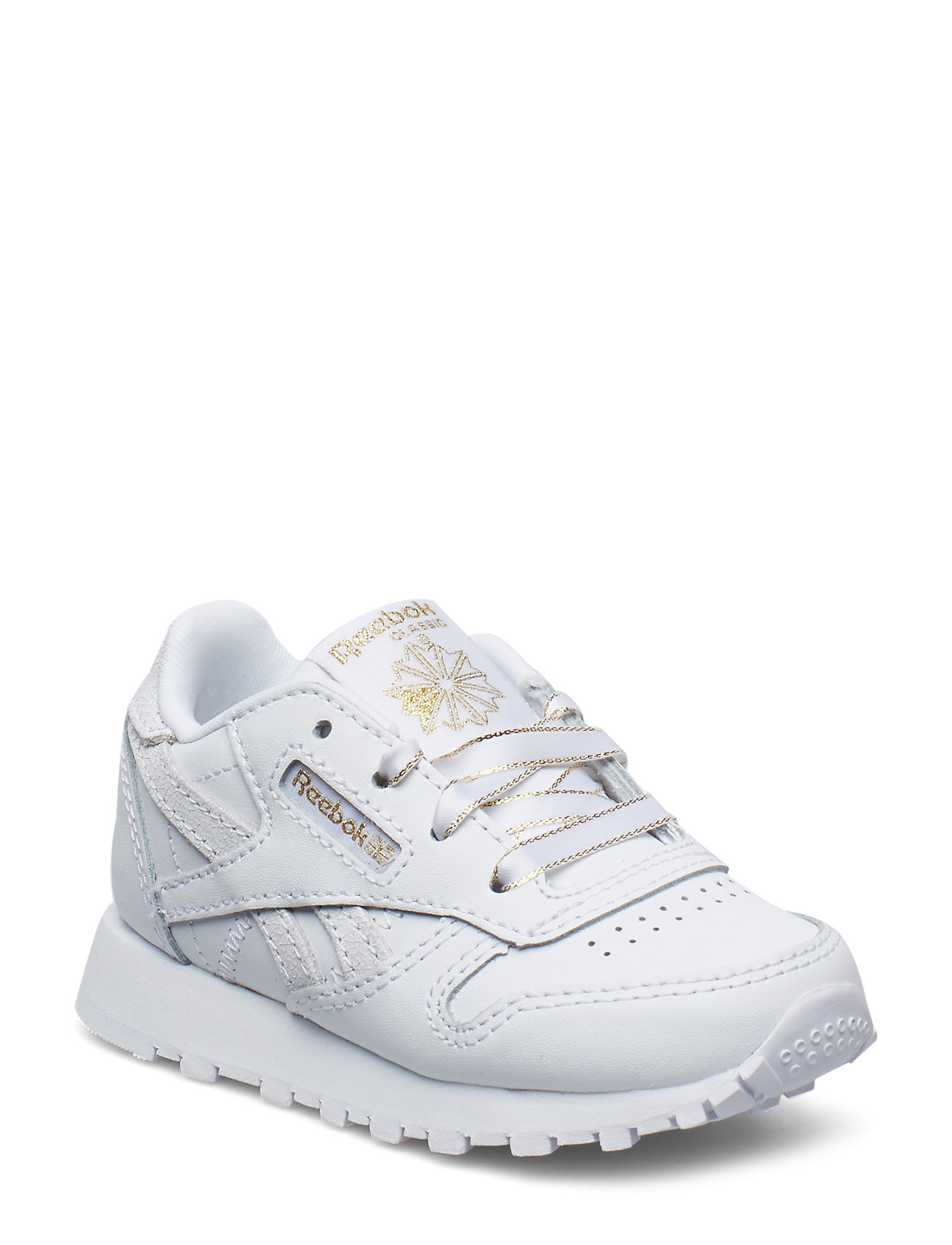 Reebok Classics CLASSIC LEATHER - WHITE/CHALK/GOLD