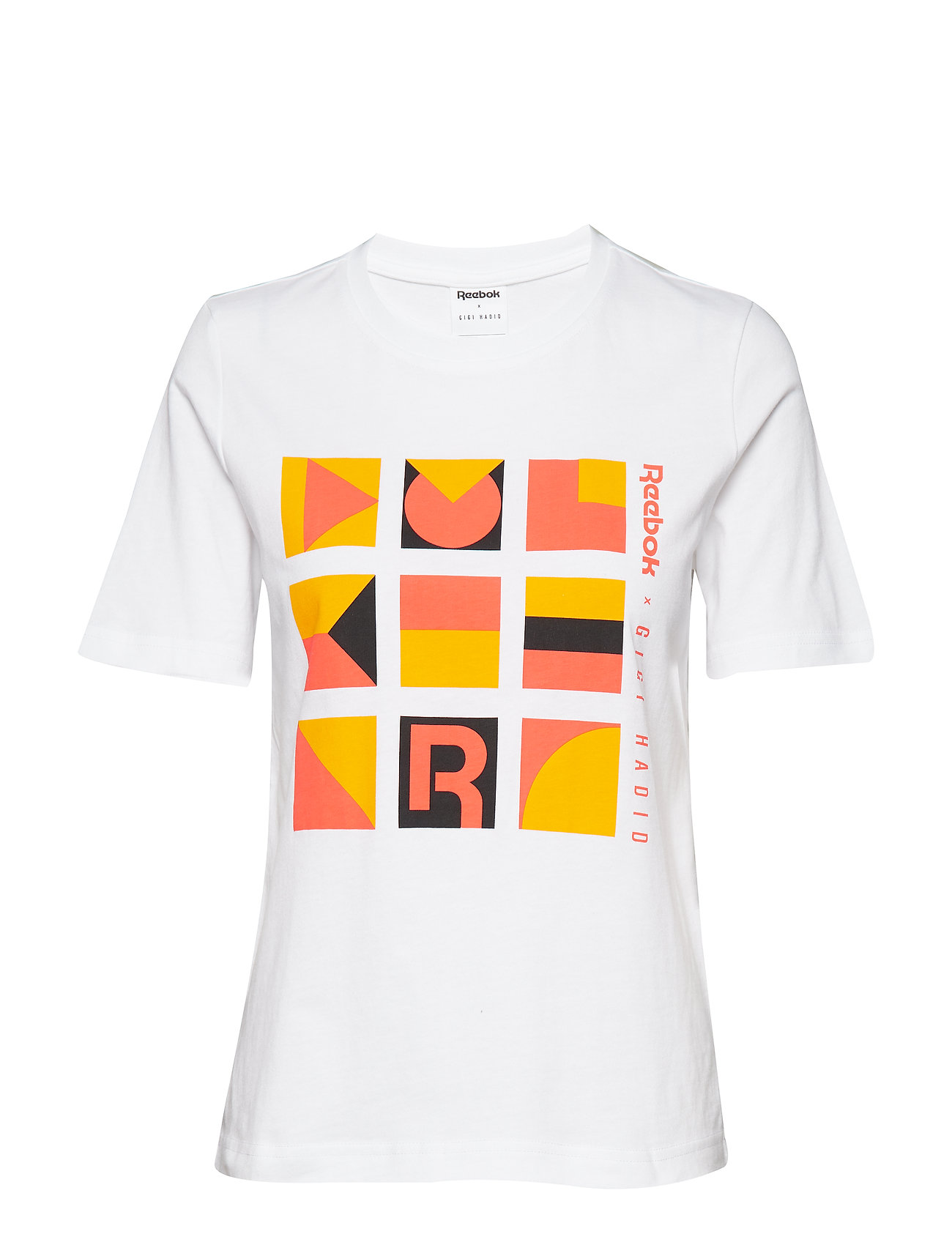 Reebok Classics Gigi Tshirt T-shirts & Tops Short-sleeved Vit Reebok Classics