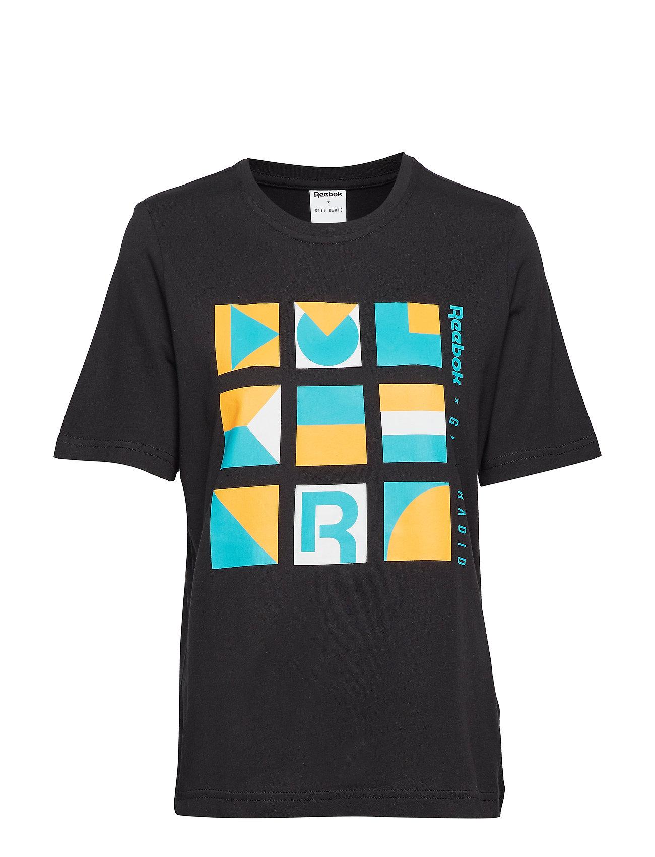 Reebok Classics Gigi Tshirt T-shirts & Tops Short-sleeved Svart Reebok Classics