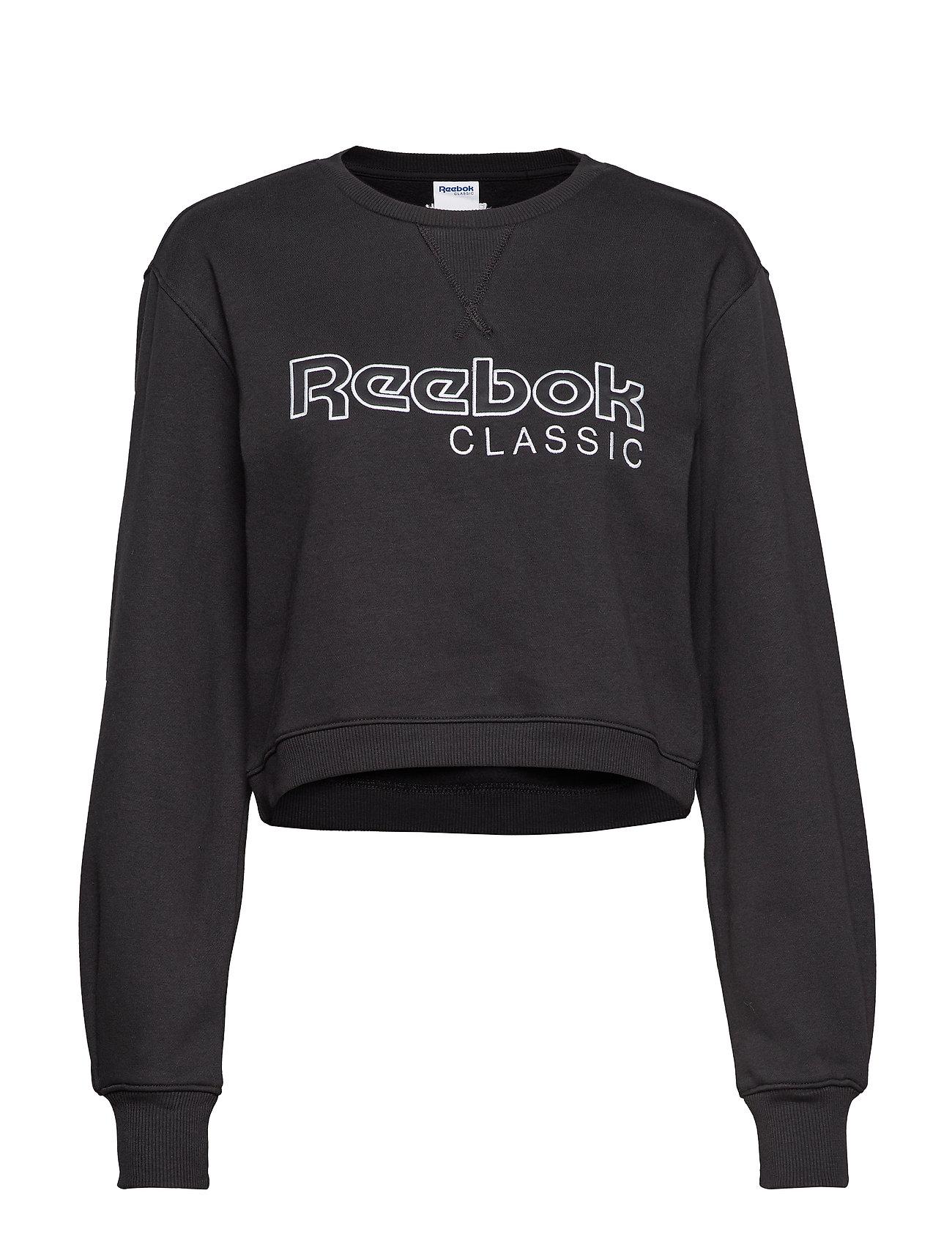 Reebok Classics CL FL REEBOK CREW - BLACK