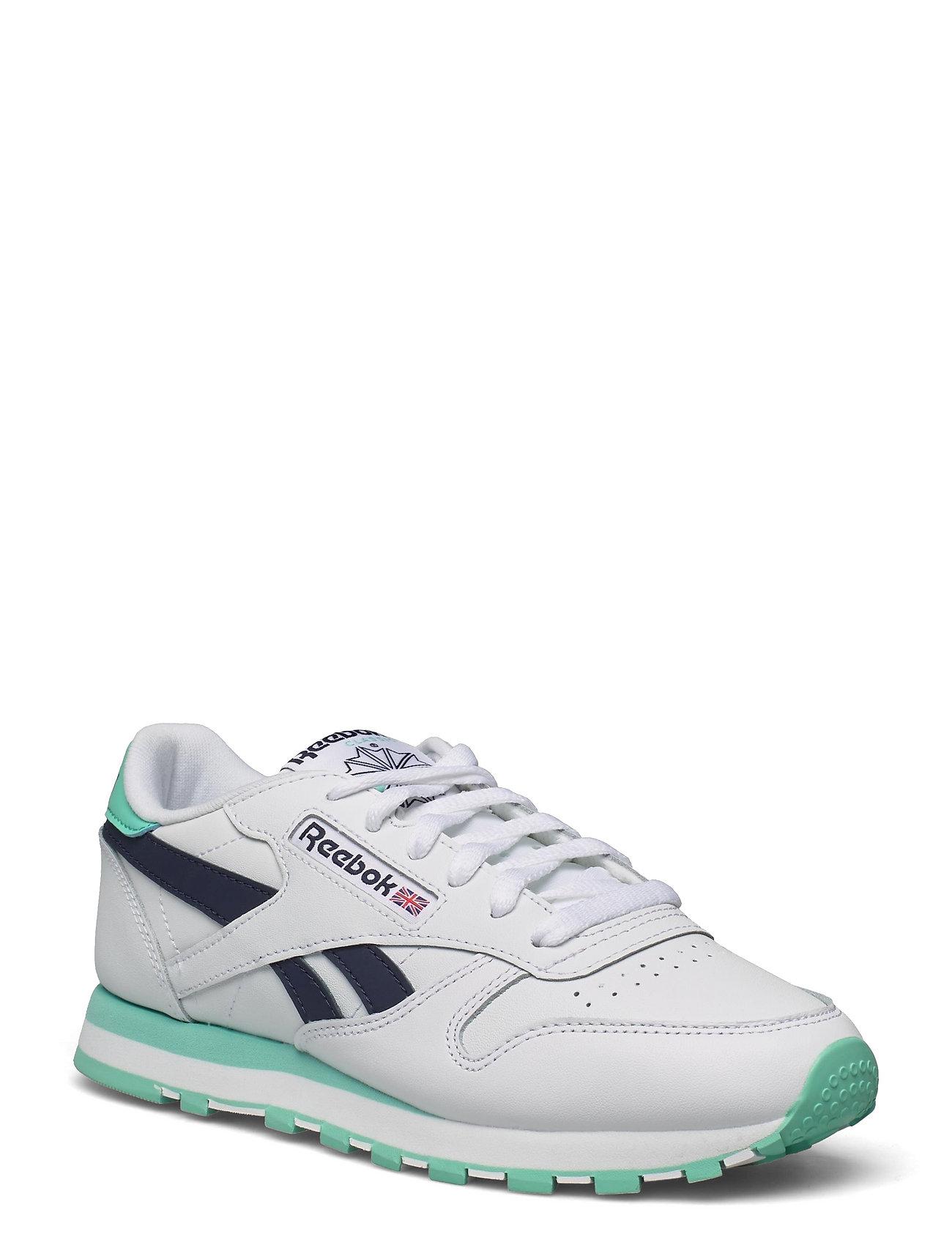 Cl Lthr Low-top Sneakers Multi/mønstret Reebok Classics