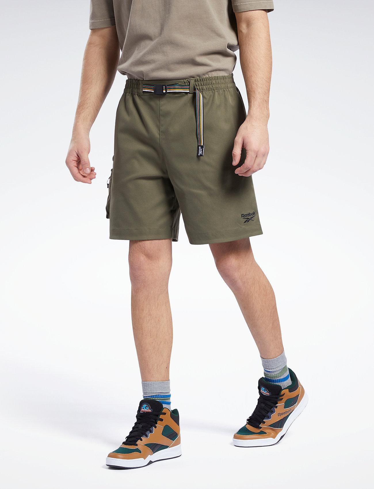 Reebok Classics - CL CAMPING SHORT - cargo shorts - armygr - 0