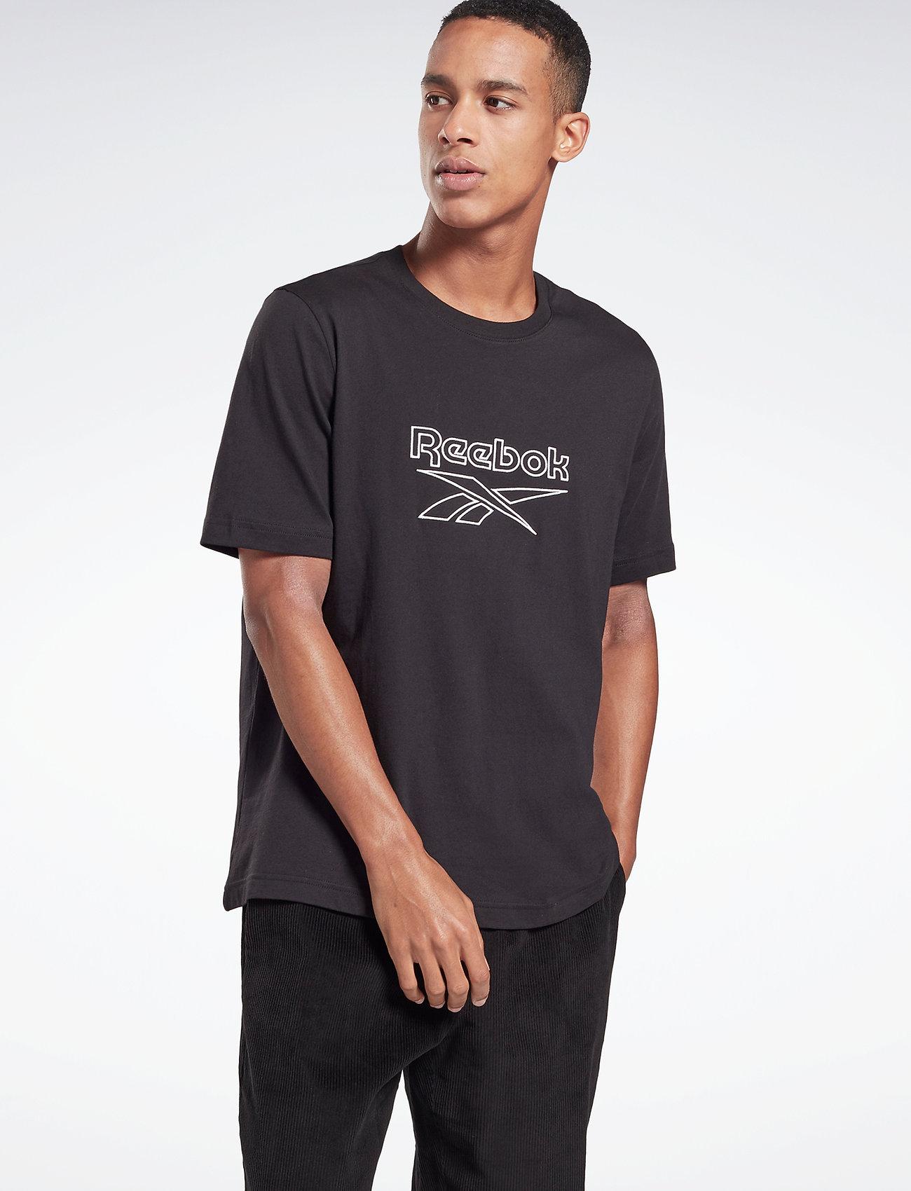 Reebok Classics - CL F VECTOR TEE - t-shirts - black - 0