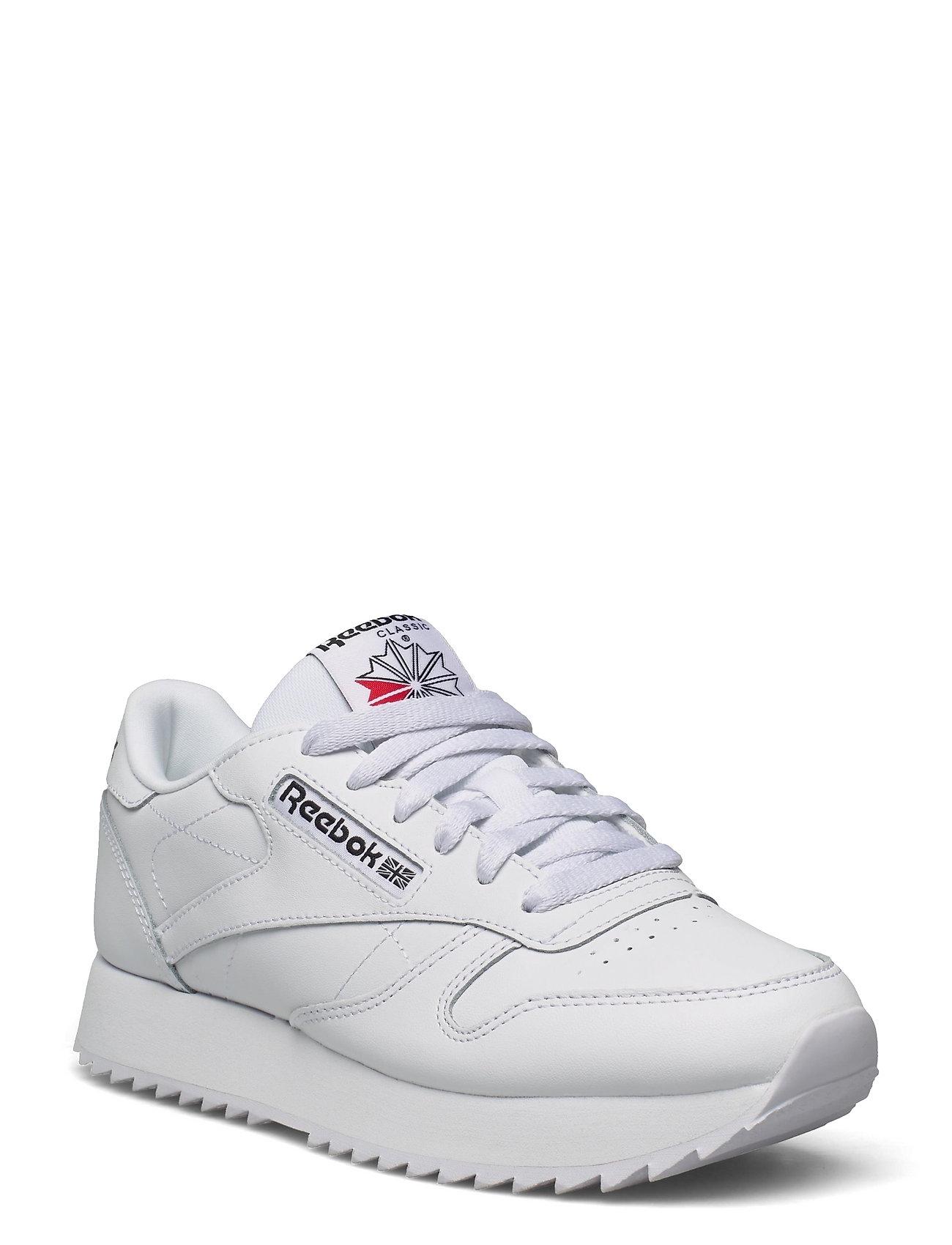 Cl Lthr Ripple Low-top Sneakers Hvid Reebok Classics