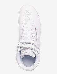 Reebok Classics - Freestyle Hi W - hoge sneakers - white/silver - 4