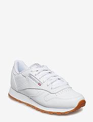 Reebok Classics - CL LTHR - chunky sneaker - white/gum - 1