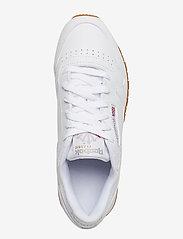 Reebok Classics - CL LTHR - chunky sneaker - white/gum - 4