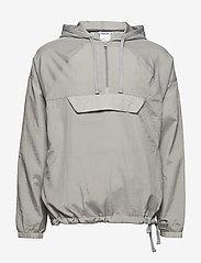 Reebok Classics - ES 1/2 ZIP OTH - sports jackets - mgsogr - 1