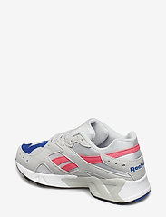 Reebok Classics - AZTREK - chunky sneakers - grey/acid pink/royal/ - 2