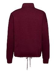 Reebok Classics - CL F HALFZIP SWEATER - basic-sweatshirts - maroon - 2