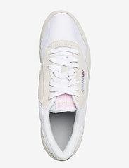 Reebok Classics - Classic Nylon W - lage sneakers - white/lgtgre/none - 3