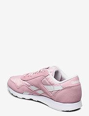 Reebok Classics - CL NYLON - sneakers - clapnk/white/white - 2
