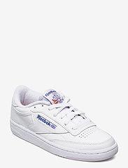 Reebok Classics - Club C 85 W - sneakers - white/lumlil/coublu - 0