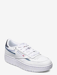 Reebok Classics - Club C Double W - sneakers - ftwwht/cdgry2/dynred - 0