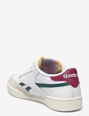 Reebok Classics - Club C Revenge - laag sneakers - ftwwht/midpin/punber - 2