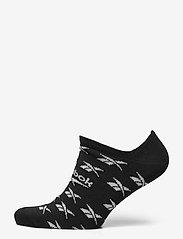 Reebok Classics - CL FO Invisible Sock 3P - kousen - black - 2