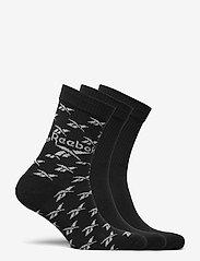 Reebok Classics - CL FO Crew Sock 3P - kousen - black - 5