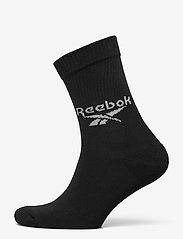 Reebok Classics - CL FO Crew Sock 3P - kousen - black - 4