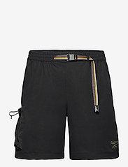 Reebok Classics - CL CAMPING SHORT - cargo shorts - black - 1