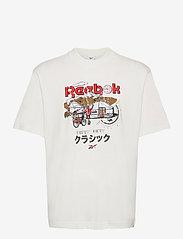 Reebok Classics - CL INTL TEE EAST - t-shirts - chalk - 1