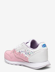 Reebok Classics - CL LEATHER - laag sneakers - ltpink/ftwwht/purglo - 2