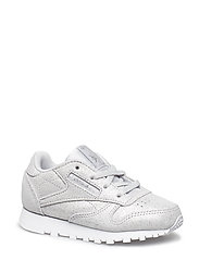 CLASSIC LEATHER - SILVER MET/GREY/WHT