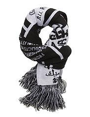 CL FOOTBALL FAN SCARF - BLACK