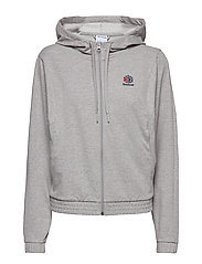 CL  FT FULL ZIP - MGREYH