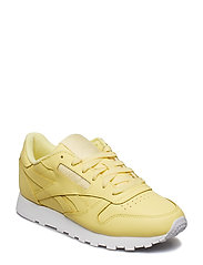 CL LTHR - FILTERED YELLOW/WHITE