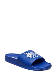 REEBOK CLASSIC SLIDE - CRUSHED COBALT/WHITE