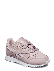 CLASSIC LEATHER - ASHEN LILAC/WHITE