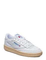 CLUB C 85 - WHITE/ATHLETIC BLUE/R