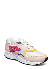 TORCH HEX - PALE PINK/COBALT/YELL