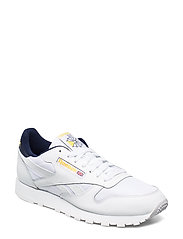 CL LEATHER MU - WHITE/COLL NAVY/YELLO