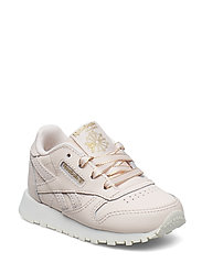 CLASSIC LEATHER - PALE PINK/CHALK/GOLD