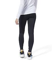 Reebok Classics - CL V P LEGGING - leggings - black - 3